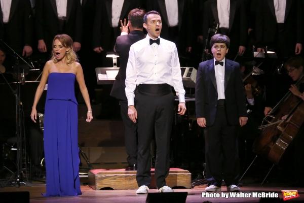 Kristin Chenoweth, Andrew Lippa and Noah Marlowe