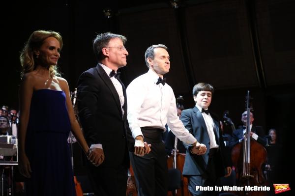 Kristin Chenoweth, Joel Fram, Andrew Lippa and Noah Marlowe