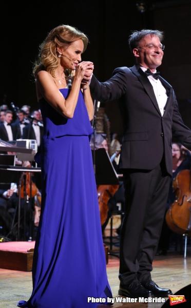 Kristin Chenoweth and Joel Fram