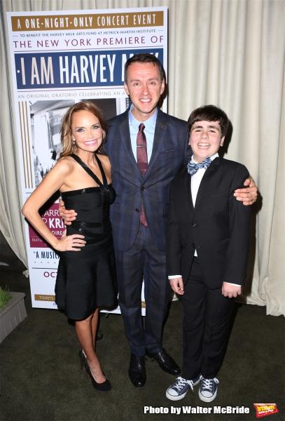 Kristin Chenoweth, Andrew Lippa and Noah Marlowe  Photo