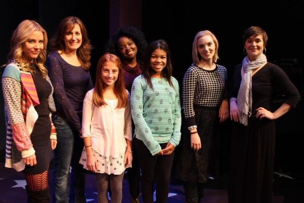 Kerry Butler, Janet Metz, Julianna Rigoglioso, Trista Dollison, Elainey Bass, Whitney Brandt and Rhyn Saver