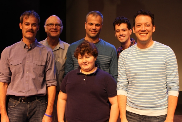 James Ludwig, Walter Charles, Tom Lucca, Jeremy Shinder, Liam Forde and John Tartaglia