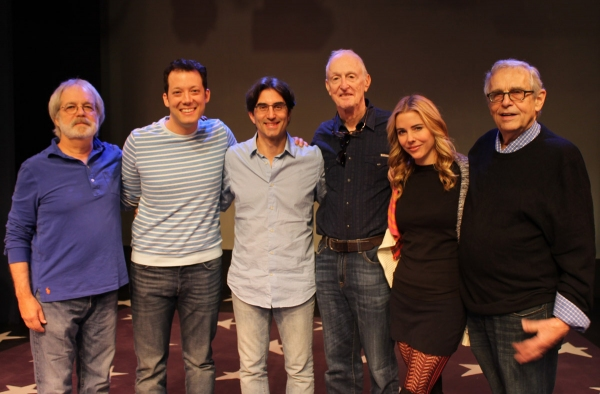 John Weidman, John Tartaglia, Michael Unger, David Shire, Kerry Butler, and Richard Maltby, Jr.
