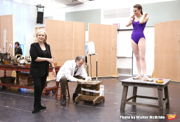 Susan Stroman, Boyd Gaines and Tiler Peck