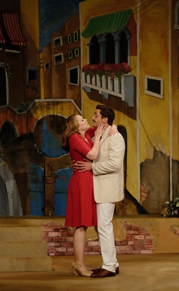 Emily Skinner and Tyler McKenna star as Leona Samish, an American tourist discovering the joys of Venice, and Renato di Rossi, the Italian antiques dealer who charms her