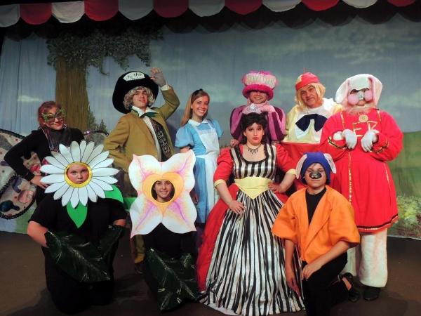 Photos: Meet the Cast of Disney's ALICE IN WONDERLAND at Way Off Broadway