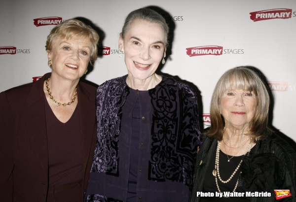 Angela Lansbury, Marian Seldes and Julie Harris attending the Primary Stages 22nd Anniversary Gala Benefit honoring Julie Harris at Tavern On The Green Restaurant in New York City. November 6, 2006