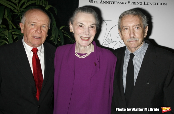 Terrence McNally & Marian Seldes & Edward Albee