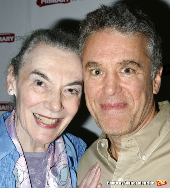 Marian Seldes & Casey Childs attending the Opening Night Party at Sarabeth''s for the Primary Stages Production of BUFFALO GAL at 59E59 Theaters in New York City. August 5, 2008