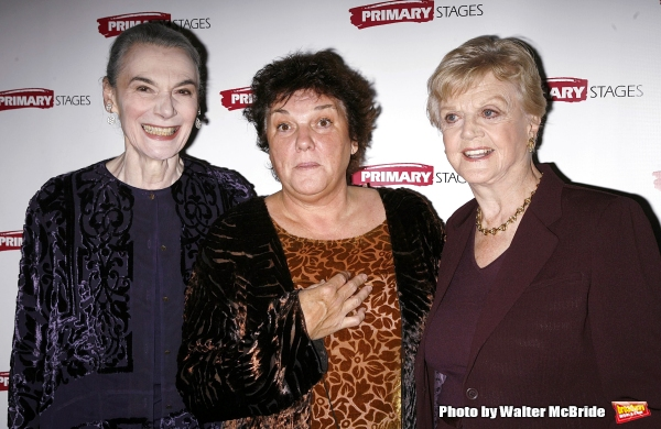 Marian Seldes, Tyne Daly and Angela Lansbury attending the Primary Stages 22nd Anniversary Gala Benefit honoring Julie Harris at Tavern On The Green Restaurant in New York City. November 6, 2006
