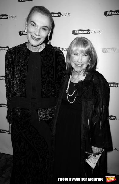 Marian Seldes and Julie Harris attending the Primary Stages 22nd Anniversary Gala Benefit honoring Julie Harris at Tavern On The Green Restaurant in New York City. November 6, 2006