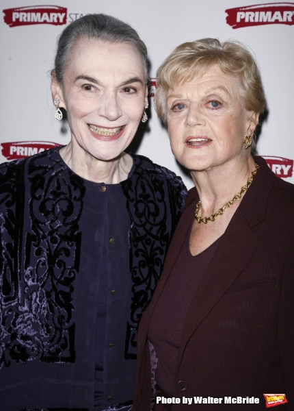 Marian Seldes and Angela Lansbury attending the Primary Stages 22nd Anniversary Gala Benefit honoring Julie Harris at Tavern On The Green Restaurant in New York City. November 6, 2006
