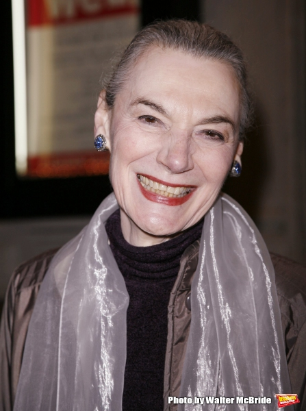 Marian Seldes attends the Primary Stages Gala benefit dinner honoring Tony Award winning director/choreographer Susan Stroman at Tavern on the Green November 7, 2005 in New York City.