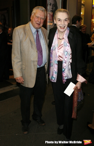 Marian Seldes & Brian Murray arriving for the Opening Night performance of The Roundabout Theatre Company''s Broadway Production of PYGMALION at the American Airlines Theatre in New York City. October 18, 2007