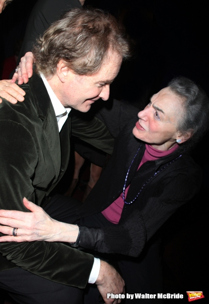 Marian Seldes & Kevin Kline attend The Lover and the Poet - An Evening of Shakespeare at the Florence Gould Hall, New York City. The Evenings proceeds benefit The Acting Company.  November 2, 2009