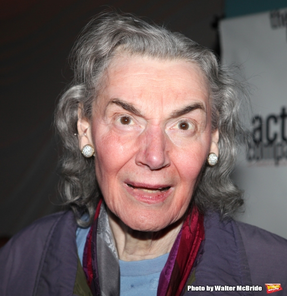 Marian Seldes.attending the After Party for  ''Angela Lansbury and Friends Salute Terrence McNally'' - A Benefit for the Acting Company in New York City.