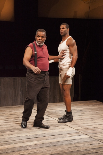 Ray Anthony Thomas as Wynton and Robert Christopher Riley as Jay