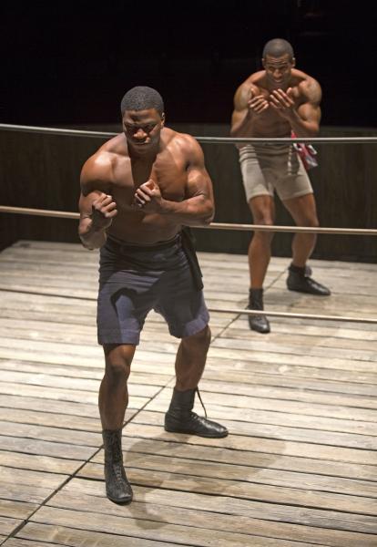 Okieriete Onaodowan as Fish and Robert Christopher Riley as Jay