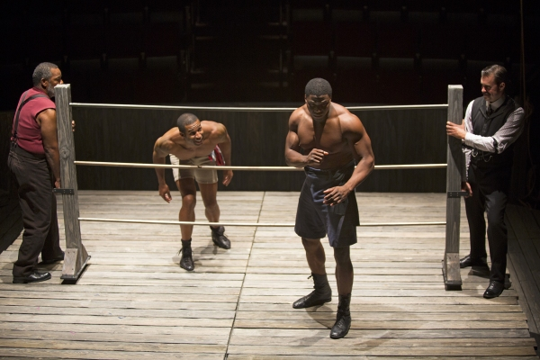 Ray Anthony Thomas as Wynton, Robert Christopher Riley as Jay, Okieriete Onaodowan as Fish, and John Lavelle as Max