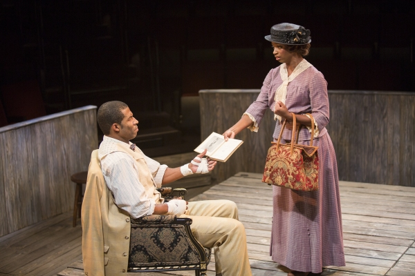 Robert Christopher Riley as Jay and Montego Glover as Nina