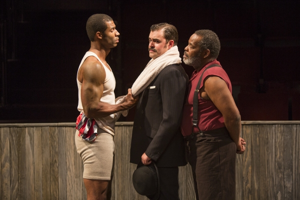 Robert Christopher Riley as Jay, John Lavelle as Max, and Ray Anthony Thomas as Wynton
