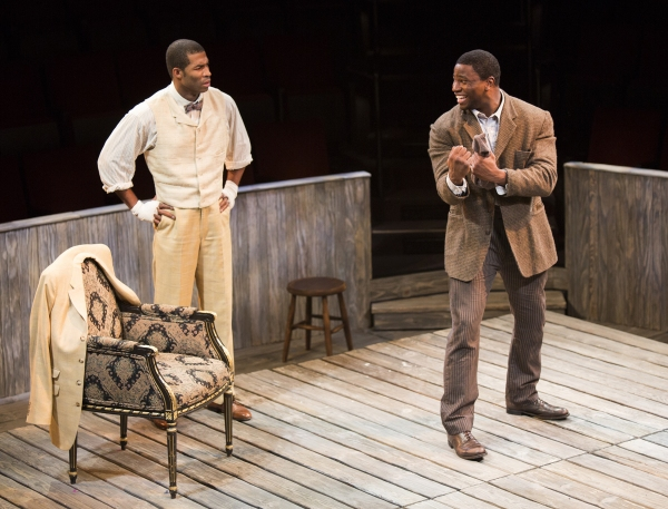 Robert Christopher Riley as Jay and Okieriete Onaodowan as Fish