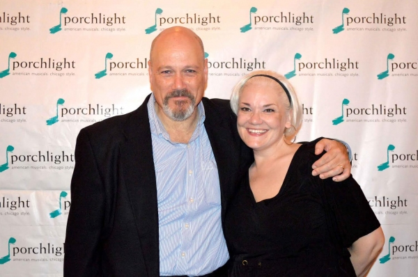 Porchlight Artistic Associates David Girolmo and Rebecca Finnegan (Sweeney Todd and Mrs. Lovett)