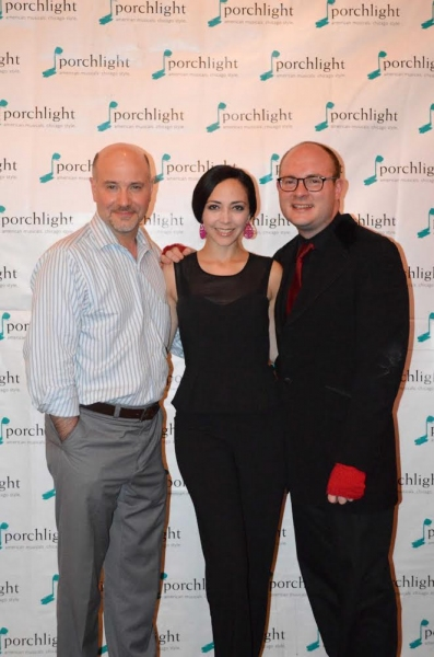 Porchlight Artistic Director and Director Michael Weber, Dance and Music Staging Dina DiCostanzo and Music Director and Porchlight Artistic Associate Doug Peck