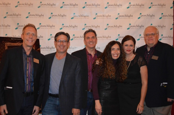 Porchlight Board of Directors Members Keith Oelnick, Greg Viti, Tony Gibson, Tamara Sims, Executive Director Jeannie Lukow and Board Member Jim Jensen