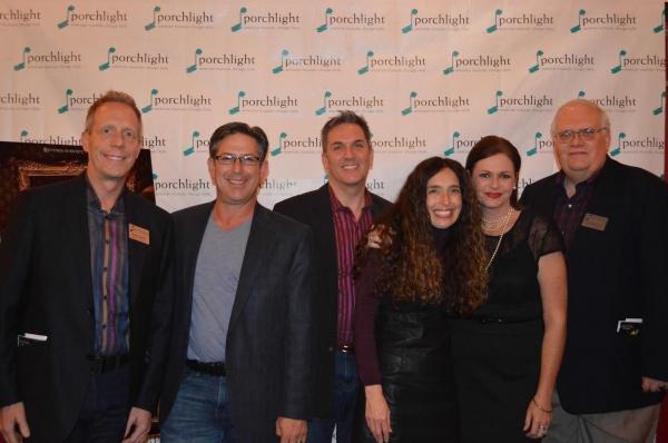 Porchlight Board of Directors Members Keith Oelnick, Greg Viti, Tony Gibson, Tamara Sims, Executive Director Jeannie Lukow and Board Member Jim Jensen