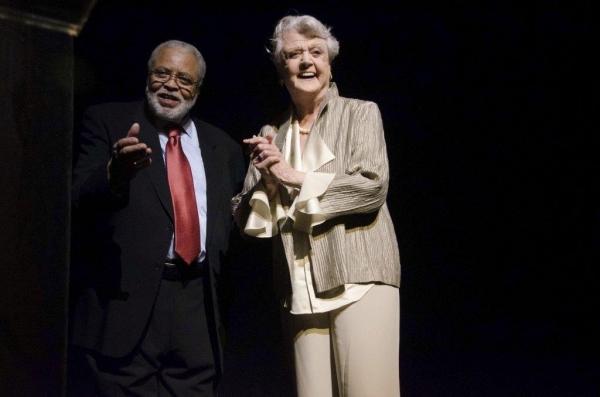 James Earl Jones presented Angela Lansbury with the ROLEX Dance Award