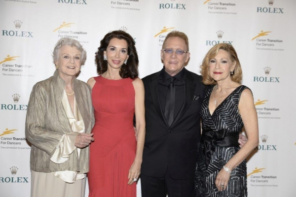 Honorees Angela Lansbury, Fe Saracino Fendi, Joe Tremaine, Janice Galli Becker