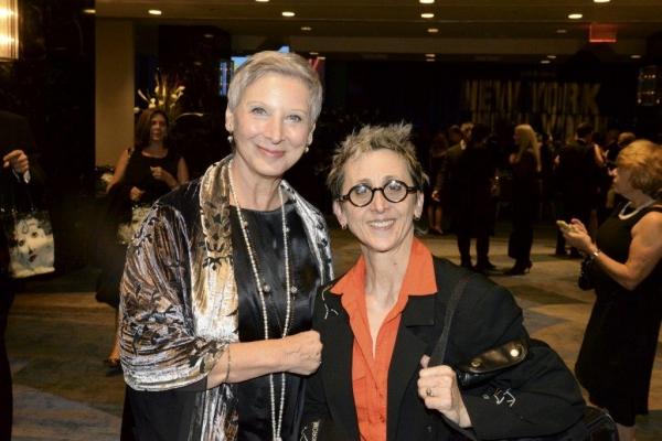 Prima ballerina Cynthia Gregory & Ann Marie DeAngelo, producer & director Photo