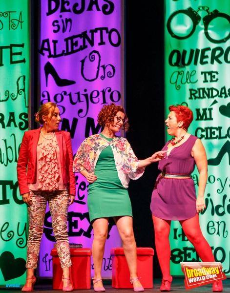 Celia Vergara, Maria Blanco y Maria Jose Santos