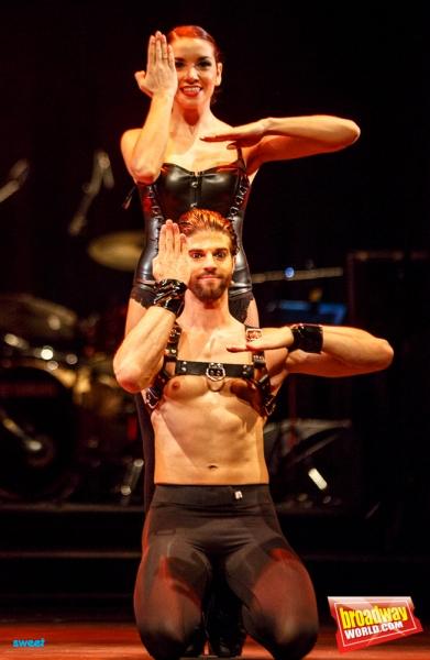 Eva Manjon y Sergio Arce