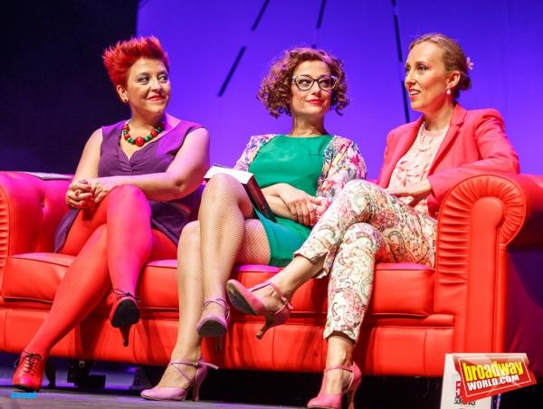 Maria Jose Santos, Maria Blanco y Celia Vergara