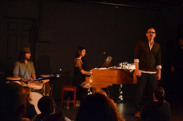 Alvaro Perdomo on drums, Marisa Michelson and Erik Lochtefeld