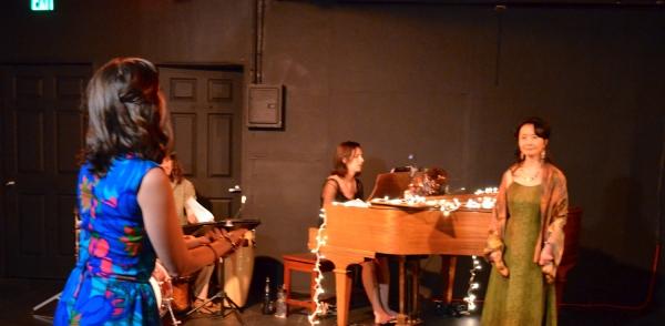 Marisa Michelson, Margo Seibert and Ako