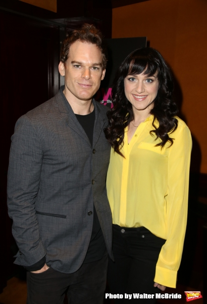 Michael C. Hall and Lena Hall