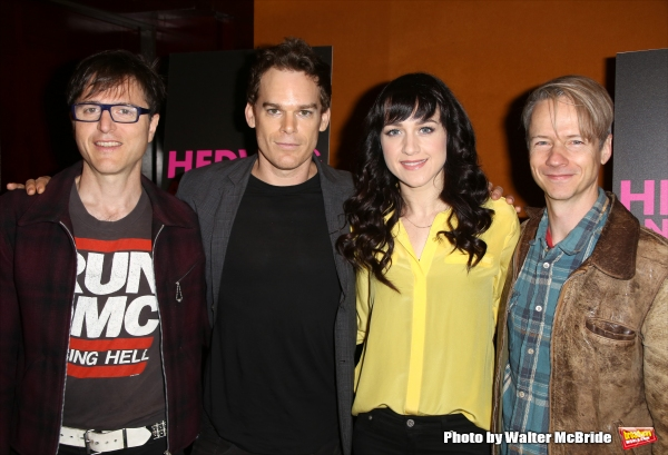 Stephen Trask, Michael C. Hall, Lena Hall and  John Cameron Mitchell