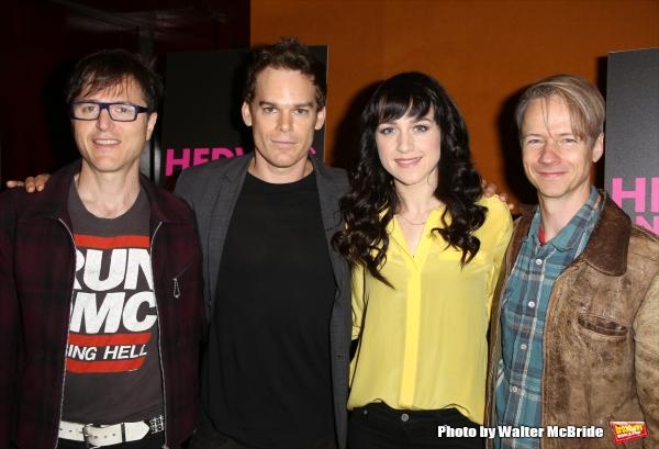 Stephen Trask, Michael C. Hall, Lena Hall and  John Cameron Mitchell