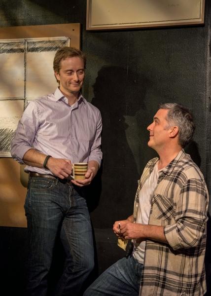 Jeffrey C. Hawkins (Jed) and Peter Davenport (Burt) Photo