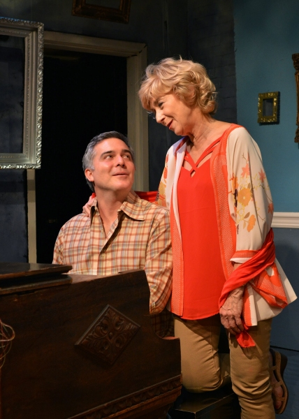 Peter Davenport (Burt) and Peggy J. Scott (Dorothy)  Photo
