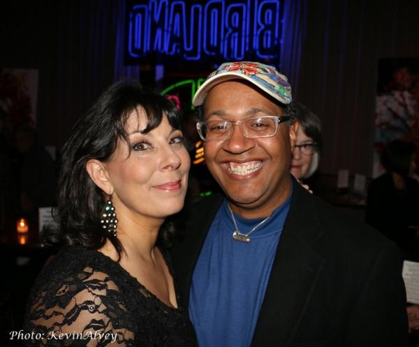 Christine Pedi and Joel Martin