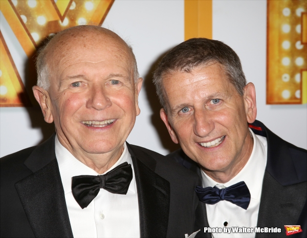 Terrence McNally and husband Thomas Kirdahy