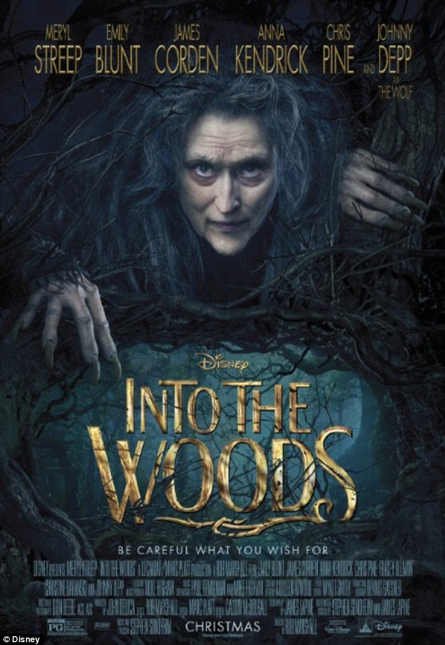 INTO THE WOODS Shares Spooky New Halloween Social Media Image With Meryl Streep