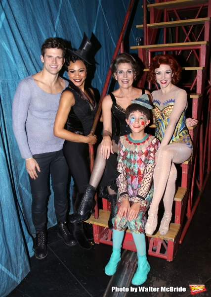 Kyle Dean Massey, Carly Hughes, Lucie Arnaz, Ashton Woerz and Charlotte D''Amboise