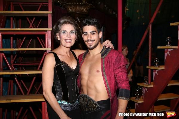 Lucie Arnaz and Nicolas Jelmoni