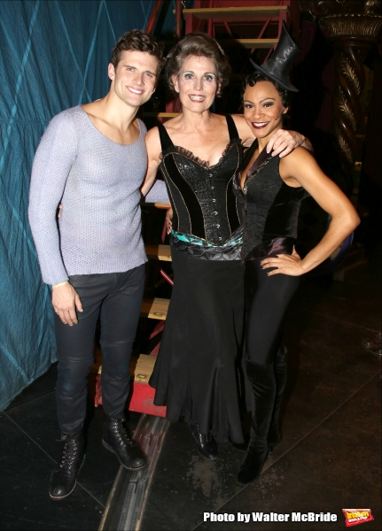 Kyle Dean Massey, Lucie Arnaz and Carly Hughes