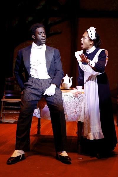 Banji Aborisade and Betty Etheredge  Photo